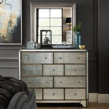 Arabella 10 Standard Dresser with Mirror by Hooker Furniture