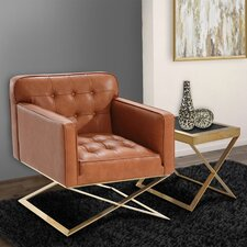 Bell Lounge Chair in Brown by Mercer41