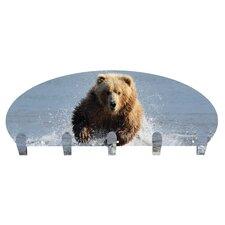 Running Bear 5 Hook Coat Rack by Next Innovations