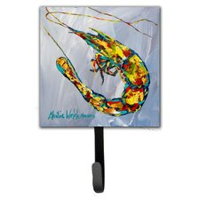Iced Shrimp Leash Holder and Wall Hook by Caroline's Treasures