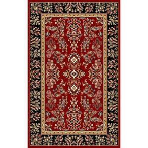 Exceptional Ottis Lianne Red Area Rug