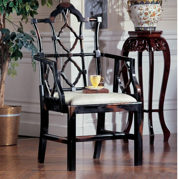 design toscano chinese chippendale armchair & reviews | wayfair