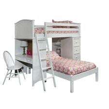 David Twin Loft Bed Customizable Bedroom Set by Viv + Rae