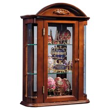Martinson Wall Curio Cabinet by Rosalind Wheeler