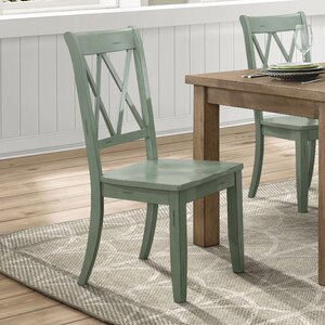 Diane Solid Wood Dining Chair (Set of 2) by Alcott Hill