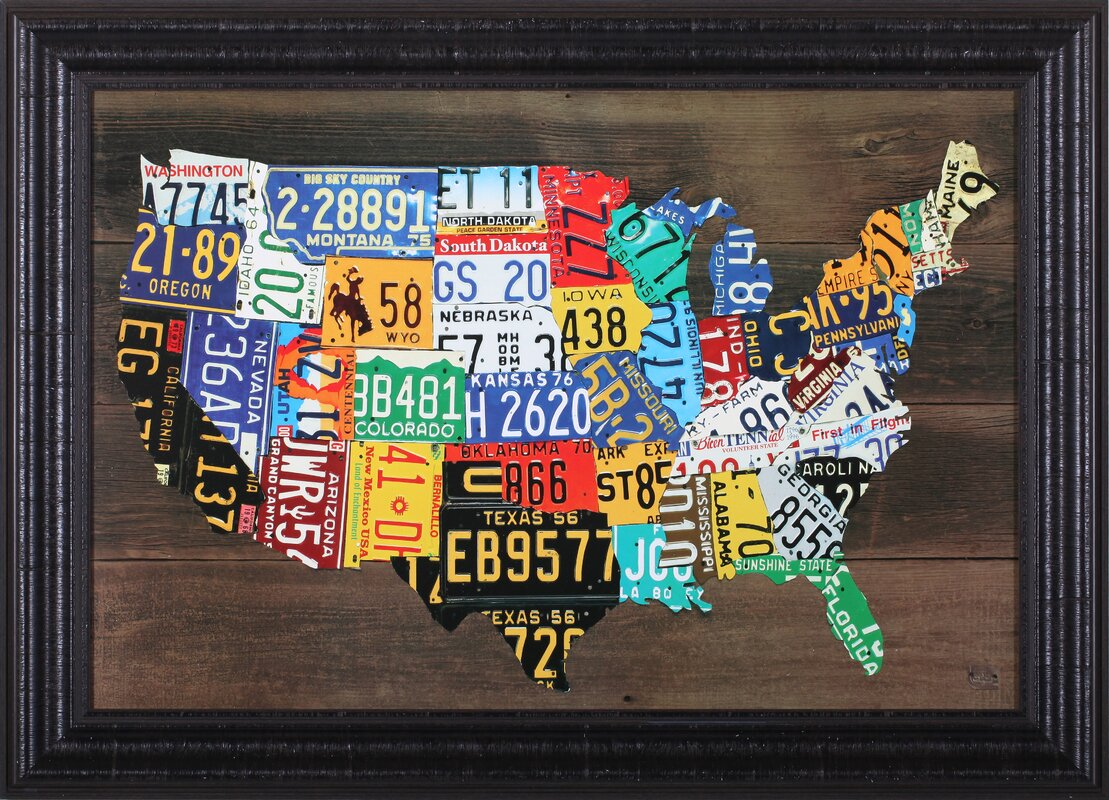 Us Map Wall Art decorative us map united states map wall art inspiring world map