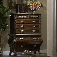 Imperial Court 5 Drawer Chest by Michael Amini (AICO)
