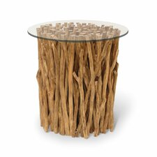 Driftwood Bundle Stick End Table by Palecek