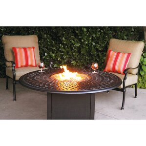 Florence 3 Piece Fire Pit Seating Group With Cushions