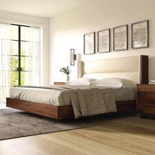 Sloane Floating Upholstery Platform Bed by Copeland Furniture