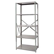 Hi-Tech Free Standing 87 H Five Shelf Shelving Unit by Hallowell