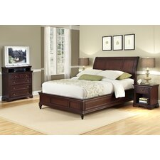 Curran Sleigh 3 Piece Bedroom Set by Three Posts