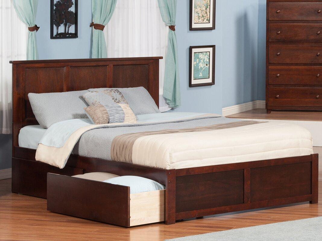 andover mills marjorie king storage platform bed  reviews  wayfair - defaultname