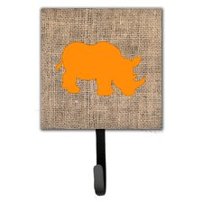 Rhinoceros Leash Holder and Wall Hook by Caroline's Treasures
