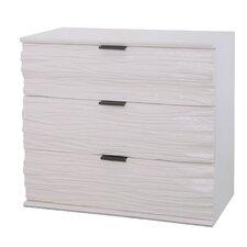 Thatcher 3 Drawer Dresser by Rosecliff Heights