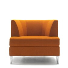 Cosy Lounge Chair with Casters by Segis U.S.A