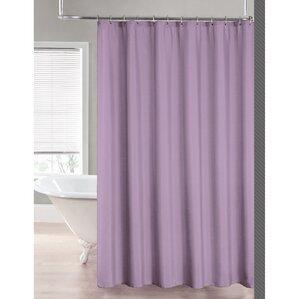 purple shower curtains you'll love | wayfair