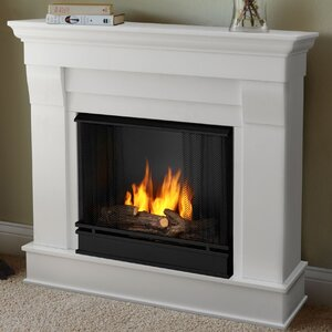 Chateau Gel Fuel Fireplace by Real Flame