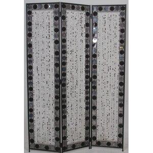 173cm x 120cm Venezia Decorative 3 Panel Room Divider