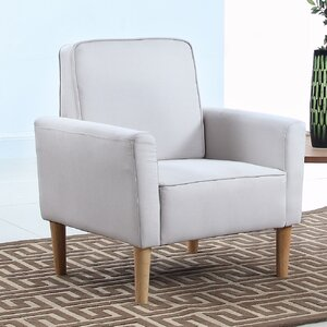 Mid Century Modern Fabric Living Room Armchair by Madison Home USA