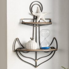 Anchor Wall Shelf by Breakwater Bay