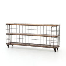 Storage Basket Console Table by Design Tree Home