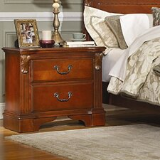 Legacy 2 Drawer Nightstand by Woodhaven Hill