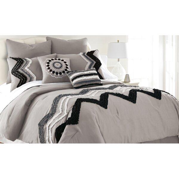 Colonial Textiles Kira Embellished 8 Piece Comforter Set & Reviews ...