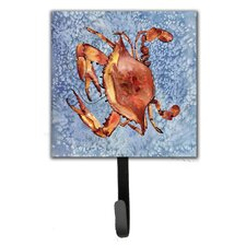 Crab Leash Holder and Wall Hook by Caroline's Treasures
