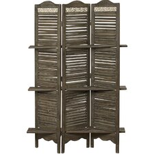 70.9 x 47.3 Farmers Market 3 Panel Room Divider by Whole House Worlds