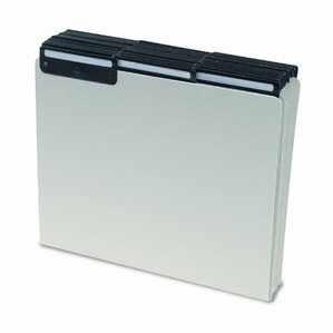 Pressboard Recycled Tab File Guides, Blank, 50/Box
