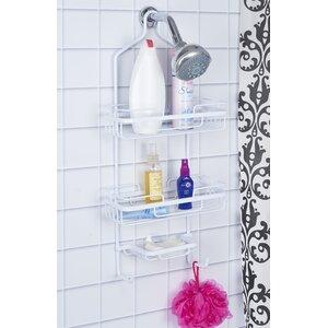 Aluminum Wall Mounted Shower Caddy Bath Bliss