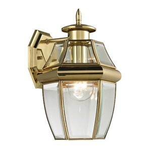 Ashford 1 Light Outdoor Wall Lantern