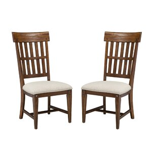 Wolf Creek Slat Back Side Chair (Set of 2) by Imagio Home by Intercon