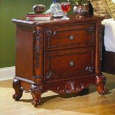 Drew 2 Drawer Nightstand by Astoria Grand