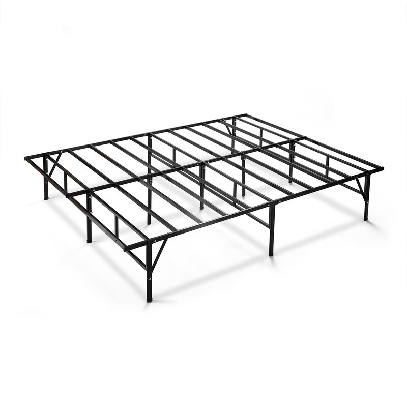 alwyn home easy to assemble smartbase bed frame & reviews | wayfair