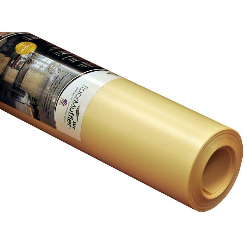floor muffler lvt ultraseal underlayment roll (100 sq.ft./roll