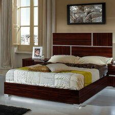 Rosenow Italian California King Platform Bed by Brayden Studio