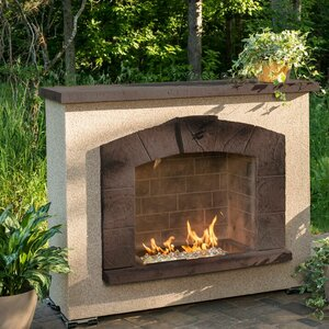Stone Arch Propane Outdoor Fire Place by The Outdoor GreatRoom Company