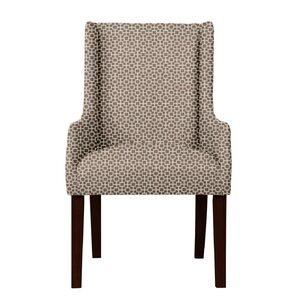 Larrabee Hardwood Frame Arm Chair by Red Barrel Studio
