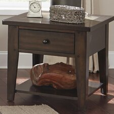 Leadville North End Table by Loon Peak
