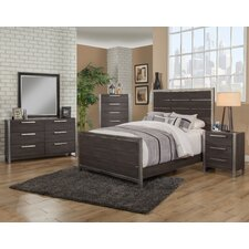 Aadi Panel Customizable Bedroom Set by 17 Stories