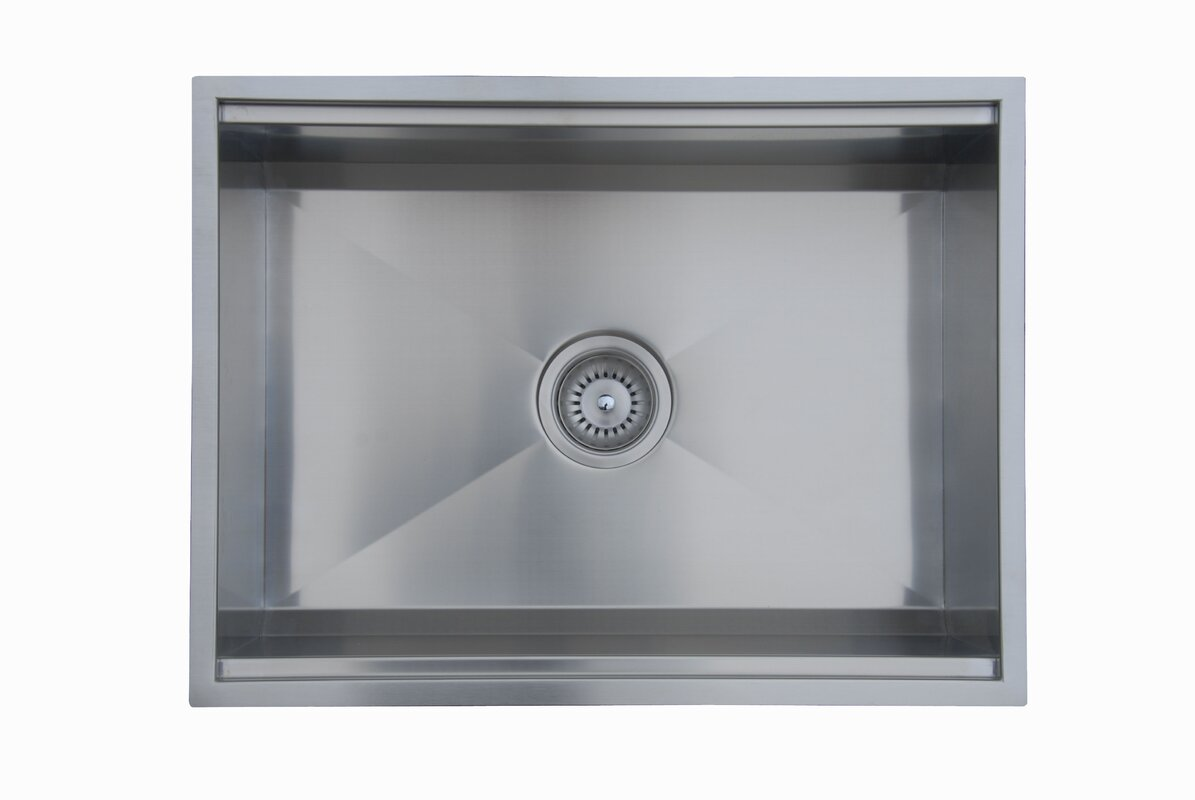 ukinox  x  zero radius single bowl kitchen sink  - defaultname