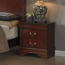 Piedmont 2 Drawer Nightstand by Cambridge