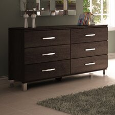 Cranbrook 6 Drawer Dresser by College Woodwork