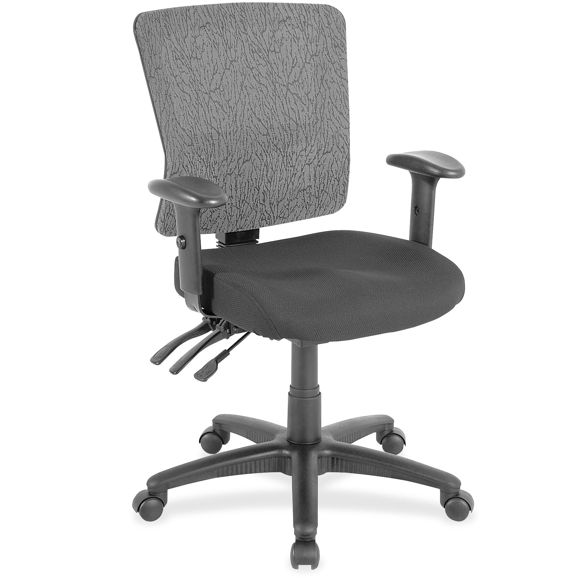 Lorell Desk Chairs Lorell Executive High Back Chair Mesh Fabric
