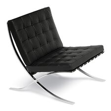 Leather Lounge Chair by Malik Gallery Collection