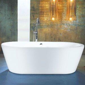 Bettia 148cm x 58cm Freestanding Soaking Bath Tub