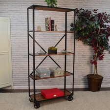 Dunellen 76 Etagere Bookcase by Gracie Oaks