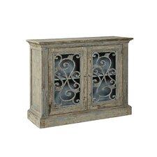 Chateau Morrisette Cast Iron Server 2 Door Accent Cabinet by R. Douglas Home